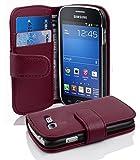 Cadorabo Coque pour Samsung Galaxy Trend Lite en ORCHIDÉE Violets - Housse...
