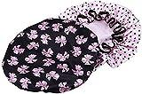 ULTNICE 2pcs Bonnet de douche imperméable Cheveux Accessoire Pour les femmes...