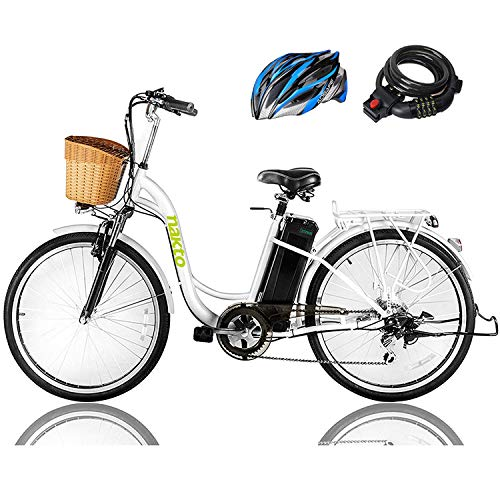 NAKTO 26' 250W Cargo Electric Bicycle...