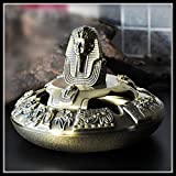 FJ Egypte Toutankhamon Cendrier Cendrier Vintage Home Décor Cigare Cendriers Cadeau drôle Metal Crafts