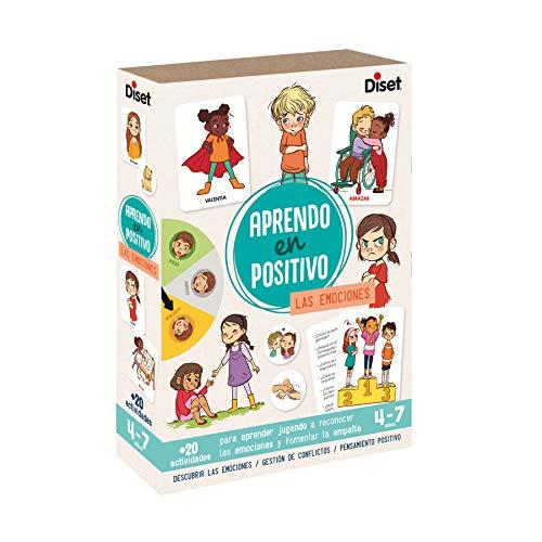 Diset - Aprendo en positivo Las Emociones - Juego educativo a partir de 4 años