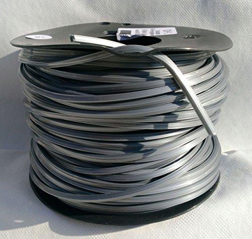 Filo professionale aloxid decespugliatore mm 4 x 60 mt nylon alluminio 6208118
