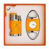 PIPITA Portable Ensemble d'accessoires de cigares Costume Jet...
