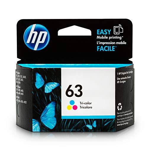 HP 63   Ink Cartridge   Tri-color   F6U61AN