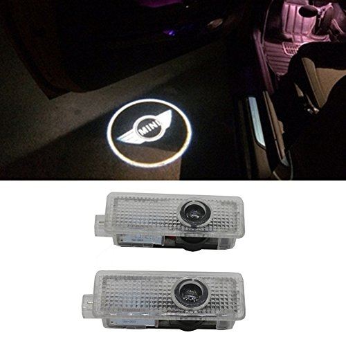 Grolish LED Courtesy Lamp Car Door Welcome Lights 12V Projector Shadow car Styling