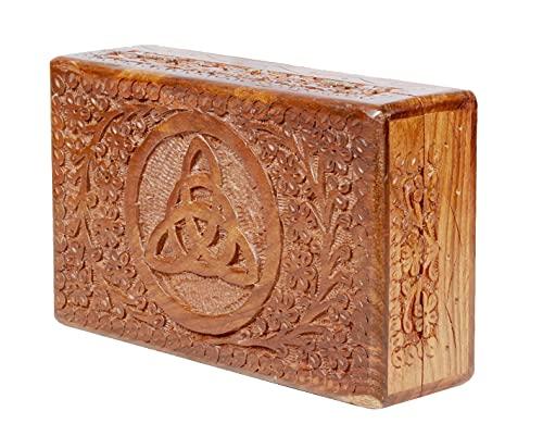 ARTISENIA Handmade Rosewood Jewelry Box Chest Organizer...