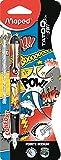 Maped - Stylo Plume Tatoo Teen - Plume Acier - Pointe Iridium - Stylo Plume...