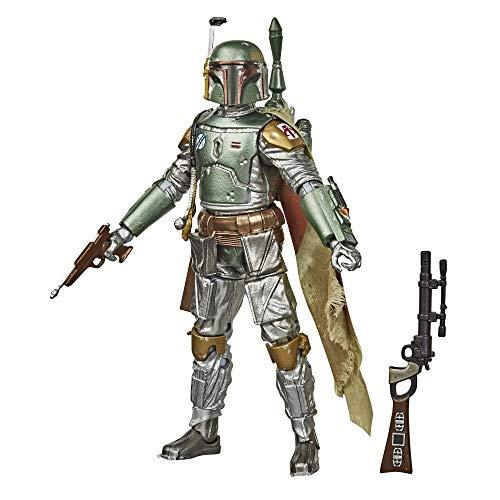 Star Wars - Black Series, Figura de Boba Fett Grafito (Hasbro, E99275L0)