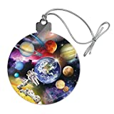 GRAPHICS & MORE Solar System Planets Space Earth Saturn Jupiter Mars Acrylic Christmas Tree Holiday Ornament