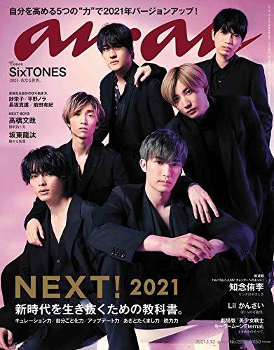 anan(アンアン)2021/1/13号 No.2232[NEXT! 2021]