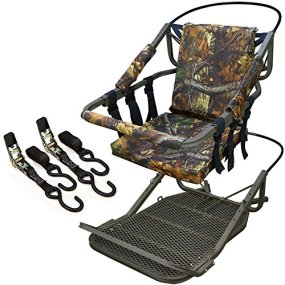 XtremepowerUS Outdoor Tree Stand Climber Climbing Hunting...