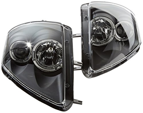 Spec-D Tuning LHP-ELP00JM-WJ Mitsubishi Eclipse Gs Gt Rs Spyder Black Halo Projector Headlights