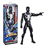 Marvel- SPD Titan Black Suit Spider Man, E73295L2