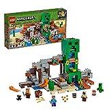 LEGO 21155 Minecraft LaMineduCreeper, Set avec Figurine de Steve,...