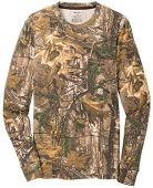 Joe's USA(tm - Realtree Explorer 100% Cotton Pocket Long Sleeve T-Shirt Camo Hunting Shirts