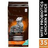 Purina Pro Plan Savor Adult Shredded Blend Chicken & Rice Formula Dog Food, 35 lb. Bag