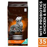 Purina Pro Plan With Probiotics Dry Dog Food, SAVOR Shredded Blend Chicken & Rice Formula - 35 lb. Bag