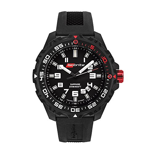 Isobrite ISO100 Ultra Bright 200m Dive/Tactical T100 Tritium Watch by Armourlite