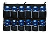 EASTON Hanging Team Helmet Bag   2020   Black   Reinforced Nylon Slots Holds Up To 12 Helmets   3 J Designed Fence Hooks for Dugout Functionality
