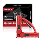WETOLS Fast Adjustable Corner Clamp (with Lock), 90 Degree Right Angle Clamp for Woodworking, Great Tool Gift for Dad Father Mother DIY Handyman