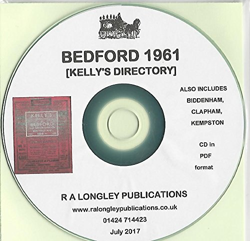 Bedford 1961 Directory [Kelly's]