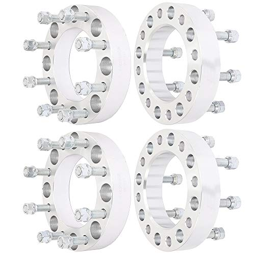 ECCPP 4X 8x170 Wheel Spacers 8 Lug 1.5 inch 8x170mm to 8x170mm 125 mm fits for Ford F250 F350 Excursion Powerstroke