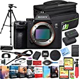 Sony a7 III Full Frame Mirrorless Interchangeable Lens 4K HDR Camera ILCE-7M3 Body Bundle with Deco...