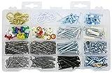 Qualihome Household Repair and Hanging Kit: Screws, Nails, Wall...