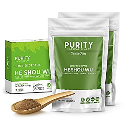 ⭐ FEEL LIKE YOU'RE 21 AGAIN – Our organic He Show Wu powder has been shown to support healthy aging, stamina, endurance, and enhance energy and immunity. ⭐ GREAT TASTE AND CONSISTENCY - Our delicious He Should Wu powder is specially formulated for ta...