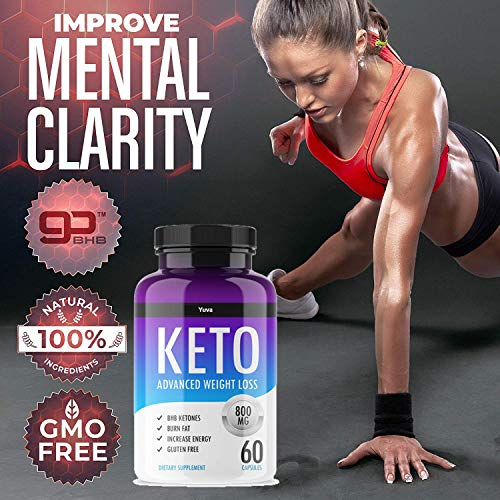 QFL Yuva Keto Diet Pills - Utilize Fat for Energy with Ketosis - Boost Energy & Focus, Manage Cravings, Support Metabolism - Keto BHB Supplement for Women and Men - 90 Day Supply 4