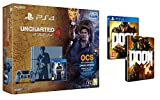 Contenu : Console PlayStation 4 1 To + Uncharted 4: A Thief's End - édition limitée Doom + Steelbook