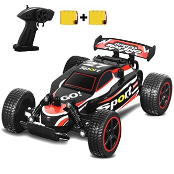 SZJJX Remote Control Car 20+ KM/H High Speed RC Cars 2.4Ghz Fast Racing Drifting Buggy Hobby Electric Car Vehicle for Kids Boys Girls Gift (Red)