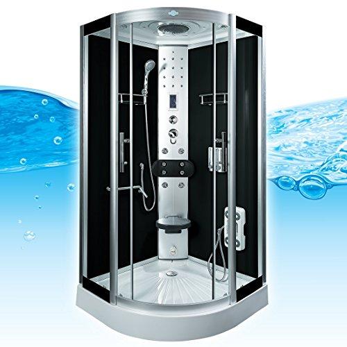 AcquaVapore DTP8058-6303 Dusche Dampfdusche Duschtempel Duschkabine -Th. 100 XL, EasyClean Versiegelung der Scheiben:2K Scheiben Versiegelung +89.-EUR