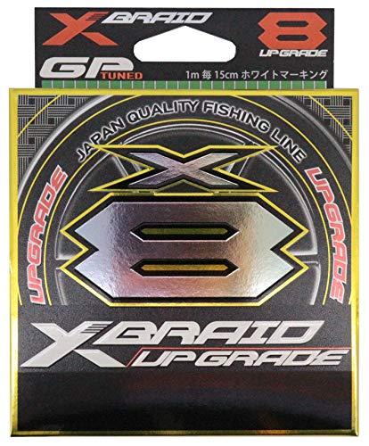 よつあみ エックスブレイド(X-Braid) アップグレード X8 150m 0.8号 16lb グリーン 1m毎15cmホワイトマーク