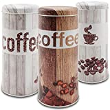 com-four 3X Boîtes pour Capsules de café- Boîte à café pour dosettes...