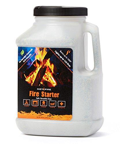 Instafire 1 Gallon Emergency Fire and Fuel Bucket Starter
