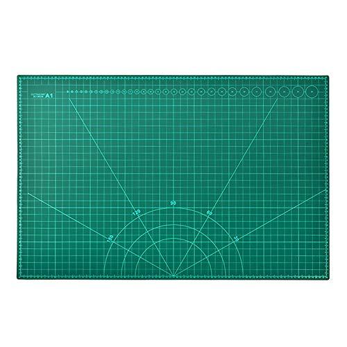 カッティングマット 特大A1判 900×600×3mm 【訳あり】両面メモリ 事務作業 工作 造形 手芸 ST-8989