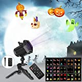 Comkes Christmas Lights, 15 Patterns LED Projector Lights,Waterproof Dynamic Christmas Projector Spotlights ,Decoration for Halloween, Christmas ,New Year,Outdoor/Indoor Use