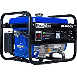 DuroMax New_XP4000S Portable Generator-4000 Watt Gas Powered Electric Start-Camping & RV Ready, 50 State Approved, Blue