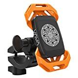 VAVA Home Phone Holder for Bike, Bike Phone Mount with Dual Strap & Magnet Support, Magnetic Bicycle Phone Holder, Motorbike Mount for Both Smartphone and Action Camera