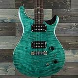 PRS SE Paul's Guitar Figured Maple Top Aqua w/Gig Bag