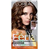 L'Oreal Paris Feria Multi-Faceted Shimmering Permanent Hair Color, 51 Brazilian Brown (Bronzed Brown), 1 Count kit Hair Dye