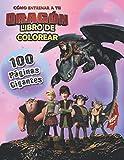 Cómo entrenar a tu dragón Libro De Colorear: el MEJOR libro para colorear