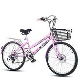 DULPLAY Bicyclette Pliable,Léger Vélo De Ville De Banlieusard 7 Vitesse...