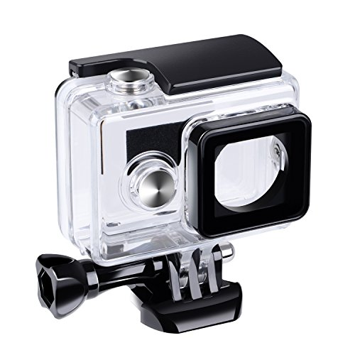 Suptig, custodia impermeabile subacquea, case impermeabile protettivo per action camera Yi, Xiaomi e Xiaoyi