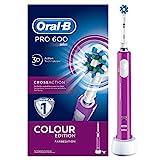 Oral-B PRO 600 CrossAction Cepillo de Dientes Eléctrico Recargable con Tecnología Braun, Edición...