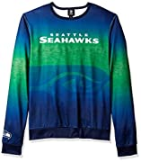 Made of soft 100% polyester Features vibrant Gradient design Crew neck design