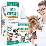 CBROSEY Nettoyant Oreille Chiens et Chats,Dog Ear...