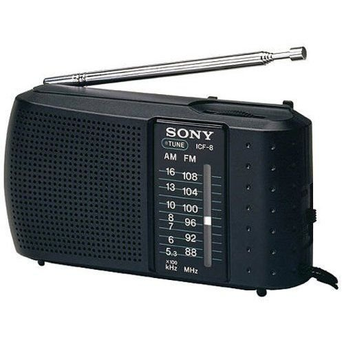 Sony ICF-8 RADIO FM/AM 2BAND Radio High Sensitivity LED...
