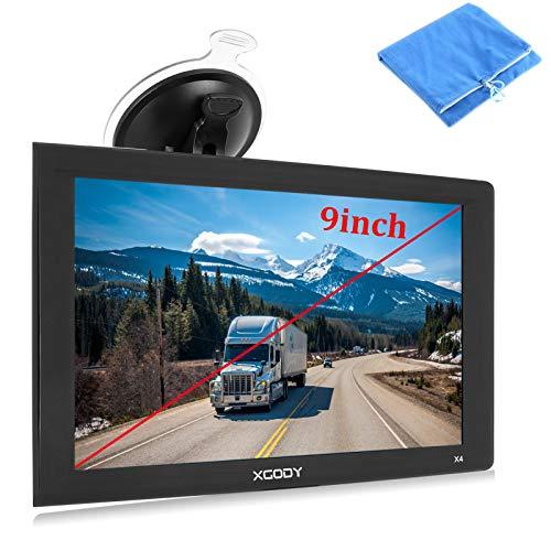 9inch Truck GPS Big Touchscreen Trucking GPS Xgody...